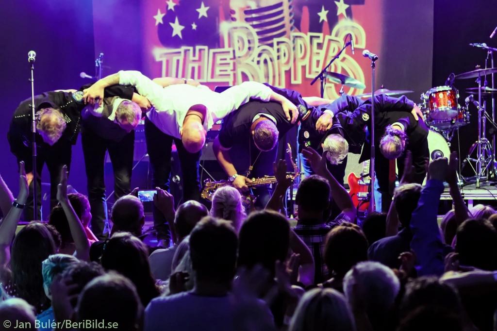 Malung 2015-07-14 Tältet The Boppers i Tältet