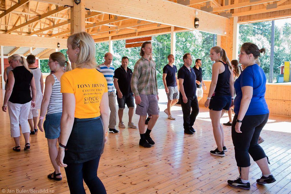 Malung 2016-07-22 Orrskogen Dansbandsveckan Dansskola