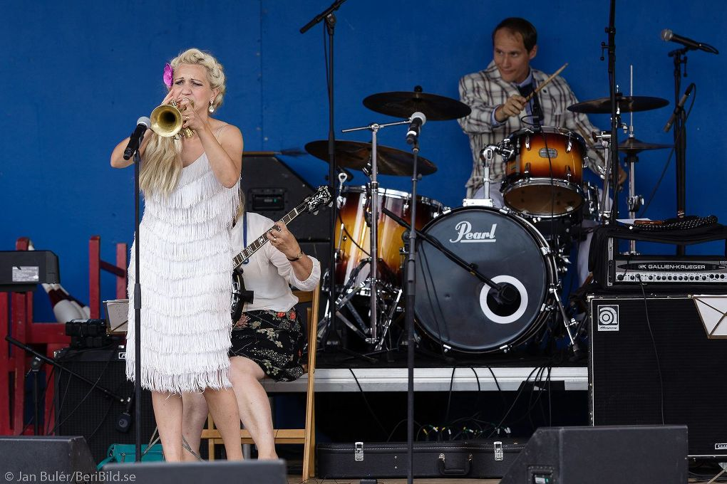 Malung 2016-07-23 Grönlandsparken Dansbandsveckan Gunhild Carling Family