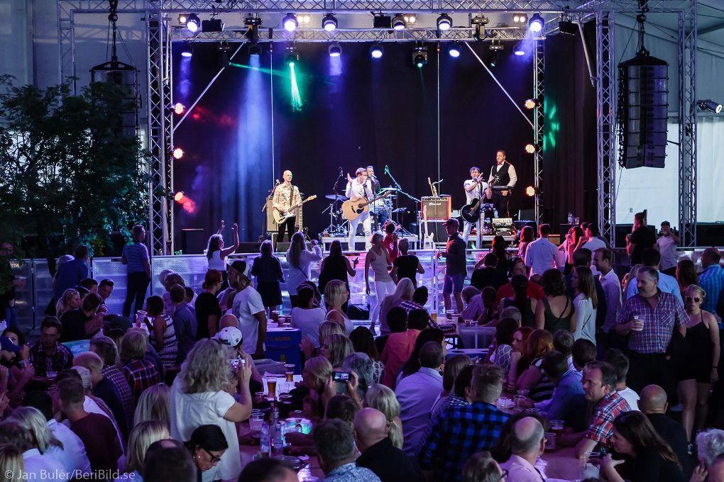 Malung 2016-07-23 Tältet Grönlandsparken Dansbandsveckan Partypolarna